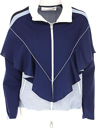 Sweatshirt for Women On Sale, Dark Blue, Cotton, 2017, 10 6 8 Golden Goose