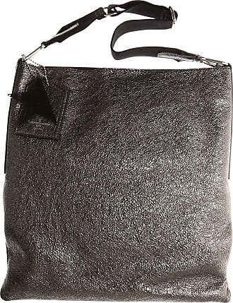 Golden Goose Tote Bag On Sale, Gun Metal, Leather, 2017, one size