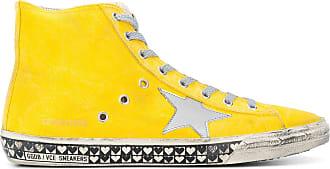 Venice high-top sneakers - Yellow & Orange Golden Goose