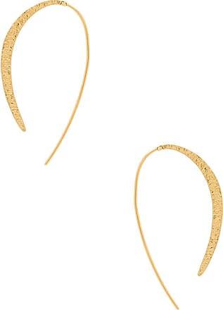 Gorjana Paloma Thread Hoop Earring in Metallic Gold