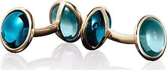 Goshwara Mischief Amethyst & Blue Topaz Cufflinks