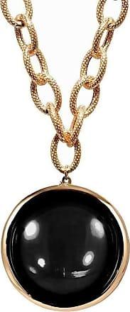 Goshwara Mischief Onyx Disc Pendant