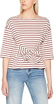Great Plains Foiled Again Crew Neck tee, Camiseta para Mujer, Blanco (Optic White/Silver 10), 40 (Tamaño Fabricante:Medium)