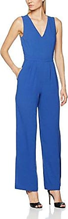 Great Plains Lola Drape Jumpsuit, Combinaison Femme, (Cuban Blue 41), 40(Taille du Fabricant: Medium)