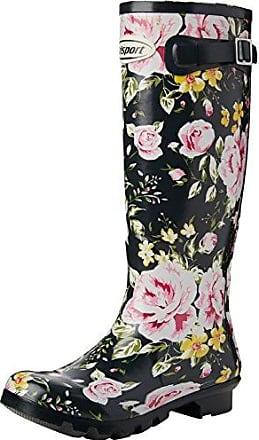GrisportWellesley - Botas de Goma Adultos Unisex, Color Multicolor, Talla 4 UK