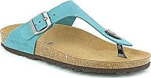 GRUNLAND Sara, Zapatos de Playa y Piscina para Mujer, Azul (Ottanio OTTA), 41 EU