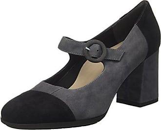 GRUNLAND - Zapatillas de Piel para mujer Negro negro 36 Negro Size: 40 EU zadzQg
