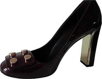 Escarpins Convertibles En Cuir à Perles Synthétiques Et Logo Marmont - NoirGucci