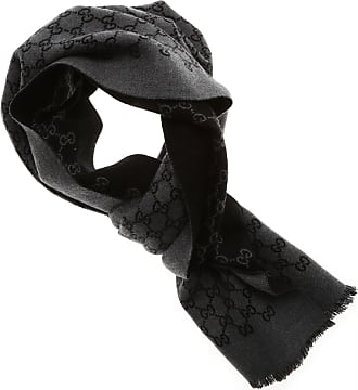 Scarf for Women On Sale, Anthracite, Wool, 2017, Universal Size Gucci