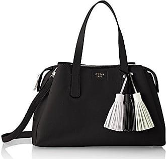 Damen Bags Hobo Schultertasche, Schwarz (Black), 16x26x44 centimeters Guess