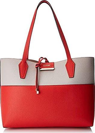Damen Bags Hobo Schultertasche, Mehrfarbig (Poppy Multi), 12.5x27x42.5 centimeters Guess