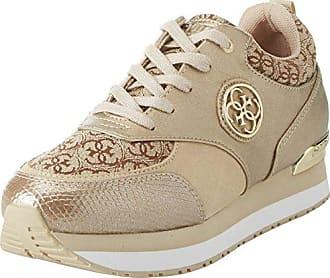 Guess Footwear Dress Active, Zapatillas para Mujer, Blanco (White White), 35 EU