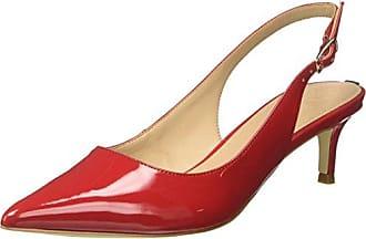 Guess Footwear Dress Sling Back, Escarpins à Plateforme Femme, Rouge (Medium Red Red), 38 EU