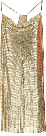 Dress for Women, Evening Cocktail Party On Sale, Gold, Metal, 2017, USA 4 -- IT 38 Guess