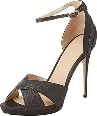 Guess Footwear Dress Sandal, Sandalia con Pulsera para Mujer, Marrón (Medium Brown Tan), 38 EU Guess