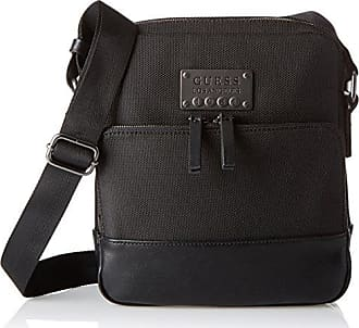 Damen Florencia Crossbody Top Zip Handtaschen, Schwarz (Nero), One Size Guess