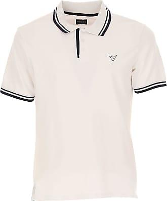 Camiseta de Hombre, Blanco, Algodon, 2017, L M S XL XXL XXXL Guess