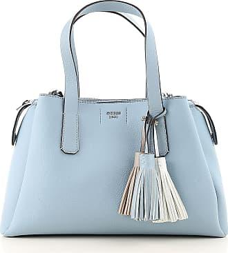 Guess Top Handle Handbag On Sale, Sky Blue, polyurethane, 2017, one size