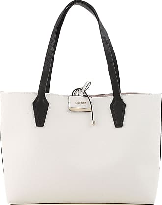 Guess Tote Bag On Sale, Vanille, polyurethane, 2017, one size