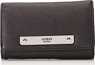 Sm4004nyl27, Womens Wallet, Nero, 2x9.8x12.4 cm (W x H L) Guess