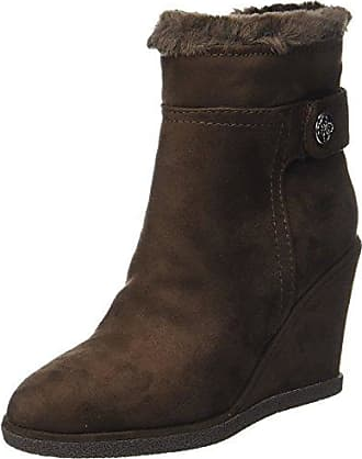 Boots for Women, Booties On Sale, Black, Suede leather, 2017, 3.5 4.5 Guess