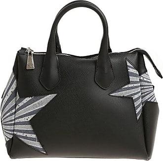 Gum Gianni Chiarini Blue handbag with glitter inserts