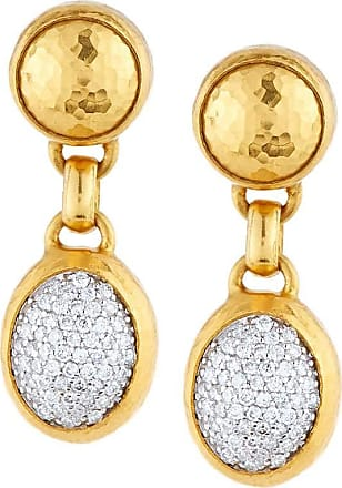 Gurhan Small Amulet Pave Stud Earrings