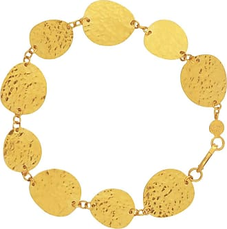 Gurhan Contour 24k Gold All-Around 1-Strand Bracelet