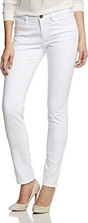 Blugirl In Tessuto Slim, Pantalón para Mujer, Blanco, 25