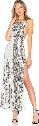 Skye Dress in Metallic Silver. - size M (also in L,S,XS,XXS) h:ours