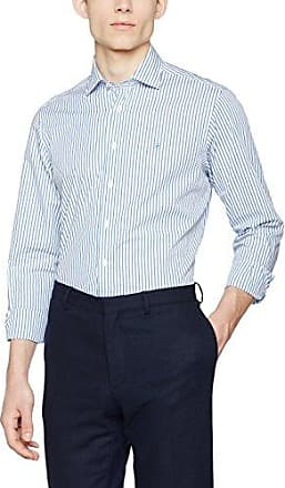 Hackett Painted Bengal Str BC, Camisa para Hombre, Multicolor (Mint/White 6eu), XX-Large Hackett