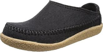 Haflinger Credo, Unisex-Erwachsene Pantoffeln, Schwarz (Schwarz 03), 36 EU