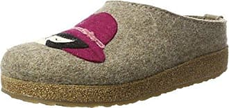 Grizzly Franzi, Chaussons Femme, Rouge (Rubin 211), 41 EUHaflinger