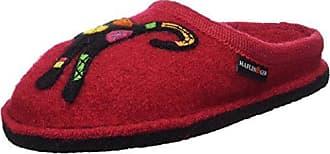 Haflinger Unisex-Erwachsene Flair Sassy Pantoffeln, Rot (Ziegelrot), 37 EU