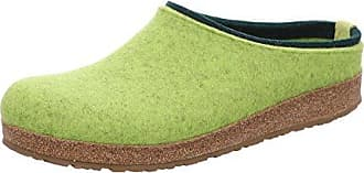 Kris Grizzly, Chaussons Mules Homme, Vert (Canary 98), 45 EUHaflinger
