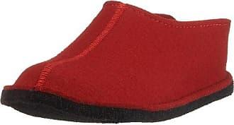 Haflinger Damen Everest PIA Pantoffeln, Rot (Rubin), 42 EU