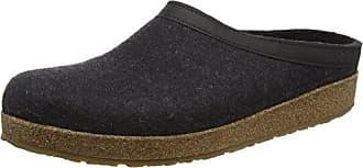 Haflinger Prisma, Unisex-Erwachsene Pantoffeln, Mehrfarbig (77 graphit), 39 EU