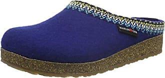 Haflinger Unisex-Erwachsene Francisco Pantoffeln, Blau (Pazifik 71), 39 EU