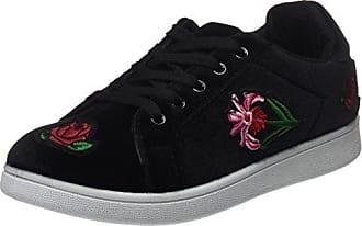 Hailys LU Anna, Zapatos de Cordones Derby para Mujer, Negro (Black 90001), 39 EU
