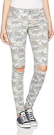 Hailys T LG C TR Kina, Pantalones para Mujer, Blanco (White 10001), 38