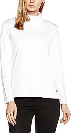 Hajo Rundhalsshirt, Camiseta de Manga Larga para Mujer, Gris (Anthrazitmelange), 42