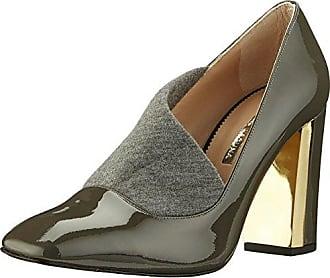Jonak 088 11296 Cu H4 - Zapatos de tacón, color Cuir Metalise Acier, talla 38