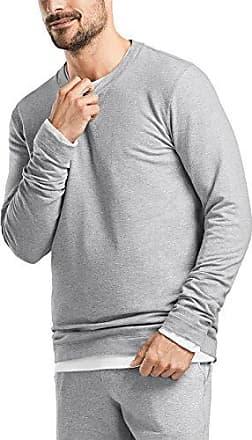 Living Leisure Sweatshirt, Sudadera para Hombre, Gris (Grey Melange 1036), Medium Hanro