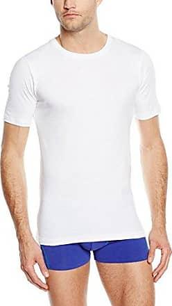 Cotton Superior V-Shirt 1/2 Arm, Camiseta de Tirantes para Hombre, Grau (Ebony 2179), Medium Hanro