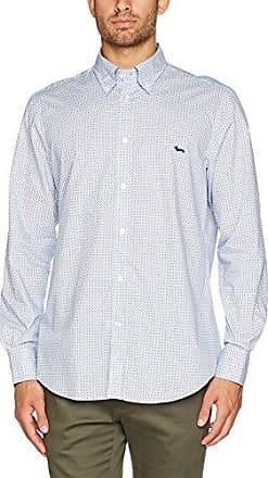 CX01101760804FR, Camisa para Hombre, Azul (BLU Denim 804), 44 ES (Tamaño Fabricante :4X-Large) Harmont & Blaine