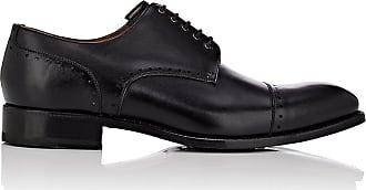 Mens Cap-Toe Burnished Leather Bluchers Harris Firenze