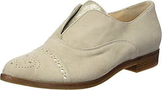 HassiaFermo, Weite G - Mocasines Mujer, Color Beige, Talla 41