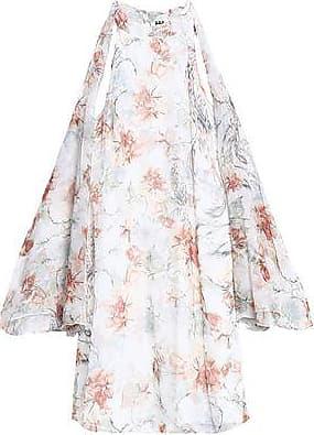 Haute Hippie Woman Snake-print Fil Coupé Chiffon Mini Dress Off-white Size 8 Haute Hippie