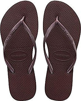 Havaianas Slim Tribal, Chanclas para Mujer, Multicolor (White/Black/Pink 1540), 37/38 EU (35/36 BR)