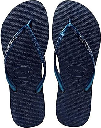 Havaianas Damen Slim Nautical Zehentrenner, Blau (Navy Blue), 35/36 EU